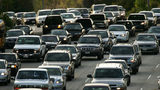 Rush hour traffic fills the 101 freeway on March 22, 2006 in Los Angeles, California.