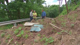 Crews show 11 Investigates how they monitor landslides