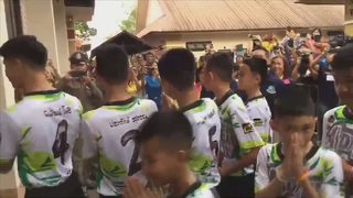 Soccer team rescued from cave in Thailand released from hospital