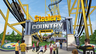 New coaster Steel Curtain, Steelers Experience coming to Kennywood in 2019
