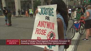 2 Antwon Rose protesters charged with assault