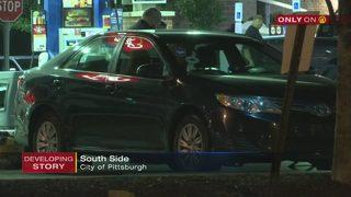 Bullet strikes Uber driver