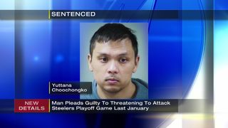 Man admits he threatened to kill players, fans at Heinz Field