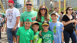 PICKLESBURGH PHOTOS: Thousands Celebrate on Roberto Clemente Bridge