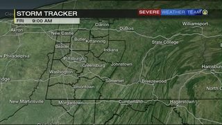 STORM TRACKER: Showers, storms moving through the area this weekend