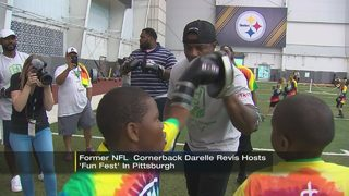 Darrelle Revis hosts