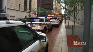 28 hurt after 2 buses involved in crash in downtown Pittsburgh
