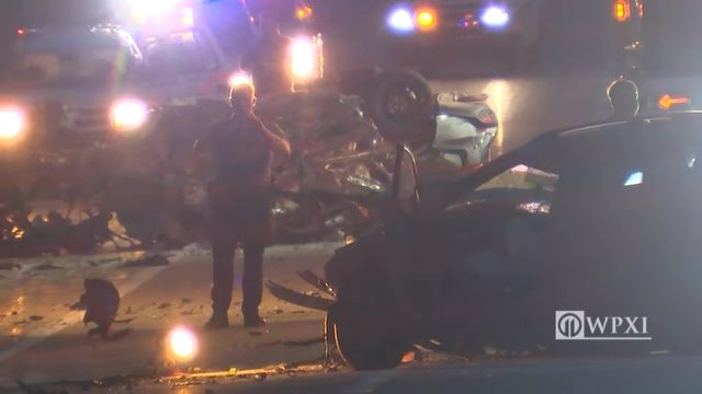 TOLL 66 CRASH: 1 dead after police chase, wrong-way crash on