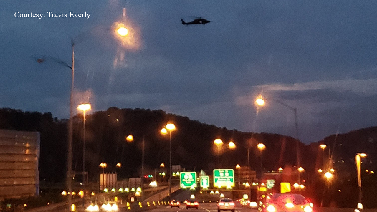 Why are there helicopters circling over Pittsburgh? | WPXI