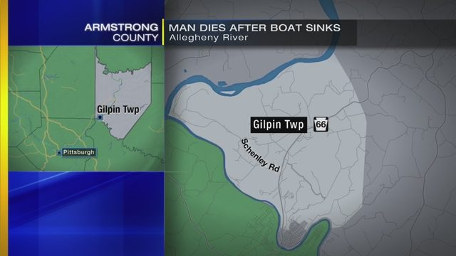 Man dies after boating accident on Allegheny River | WPXI