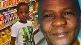 """Court records show father claims his 8-year-old son said """"Daddy, I'm sorry"""" just before the man slit his throat."""