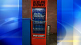 "Bud Light is installing 'Victory""Victory Fridges'"" throughout the Cleveland area that will unlock via WiFi following the Browns' first regular-season win this season."