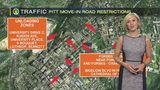 Pitt move-in road restrictions