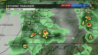 STORM TRACKER: Severe storms possible Friday afternoon, evening