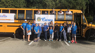 PHOTOS: 11 Cares 'Pack the Bus