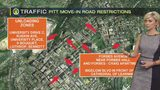 Road closures in place Monday as students begin moving into Pitt dorms