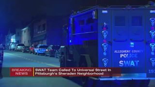 SWAT situation shuts down Pittsburgh street