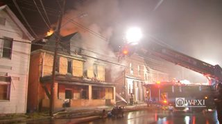 Hoarding situation discovered as flames spread through duplex