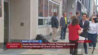 SNAP holds protest outside Catholic Diocese of Pittsburgh
