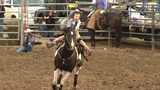 Hookstown Fair rodeo: This 8-year-old rider surprises the crowd