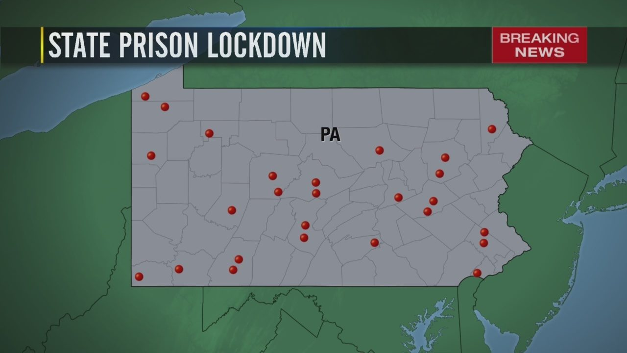 PENNSYLVANIA PRISON LOCKDOWN: Multiple employees exposed to