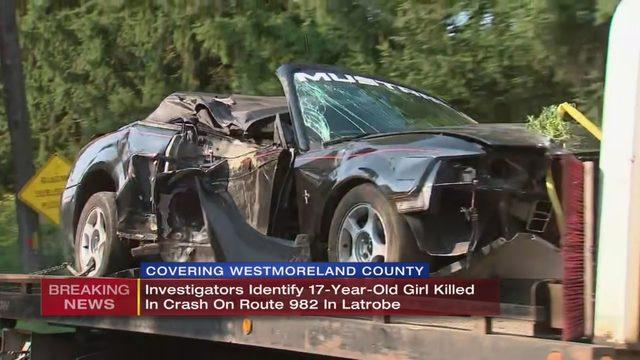ROUTE 982 CRASH: High school senior killed in crash that