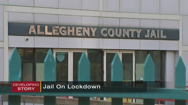 ALLEGHENY COUNTY JAIL LOCKDOWN: Allegheny County Jail on