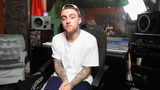 """MAC Miller performs during Behind The Scenes With MAC Miller Filming Music Choice's """"Take Back Your Music"""" Campaign at Music Choice on July 17, 2013 in New York City. (Photo by Jamie McCarthy/Getty Images)"""