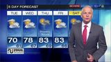 Chief meteorologist Stephen Cropper's 5 day forecast