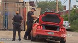 RAW VIDEO: Armed robbery suspect runs out of gas