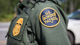 A patch on the uniform of a U.S. Border Patrol agent at a highway checkpoint on August 1, 2018 in West Enfield, Maine. The checkpoint took place approximately 80 miles from the US/Canada border. (Photo by Scott Eisen/Getty Images)