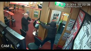 Great-grandfather fights off armed robbers