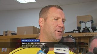 Steelers QB Roethlisberger addresses Brown