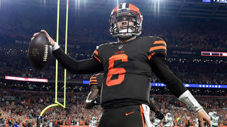 Baker Mayfield takes over, sparks Browns to first win in almost 2 years