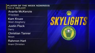 Skylights Week 4 Player of the Week