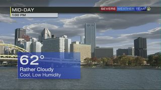 Cooler temperatures arrive for first weekend of fall