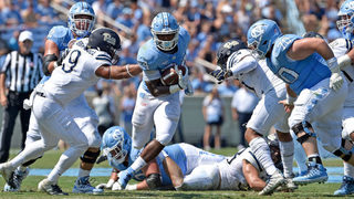 Pitt fades in second half, falls 38-35 to UNC