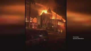 Community looks to future after fire destroys church