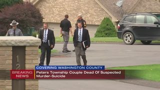 Police investigating murder-suicide in Peters Township