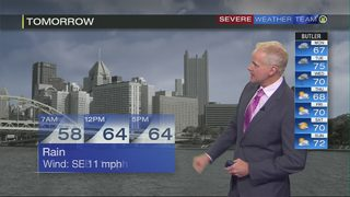 Rain this week and a chance for storms