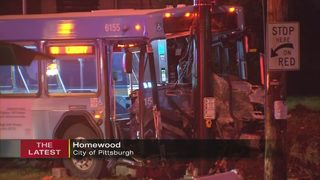 PAT bus driver in critical condition after head-on collision; 5 others hurt
