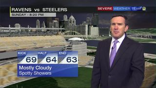 Steelers forecast for Sunday night (9/25/18)