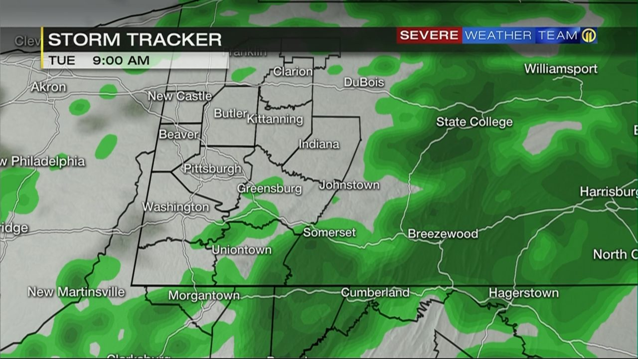 storm tracker hour by hour timing of showers storms moving through