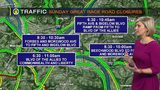 TRAFFIC: Weekend road closures and restrictions