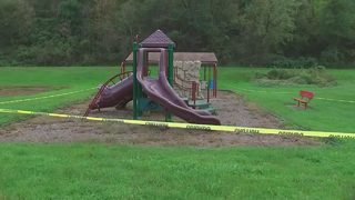 Parents concerned about local park, questions about caution tape surrounding it