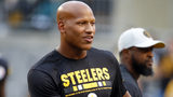 PITTSBURGH, PA - AUGUST 30: Ryan Shazier #50 of the Pittsburgh Steelers looks on before a preseason game against the Carolina Panthers on August 30, 2018 at Heinz Field in Pittsburgh, Pennsylvania. (Photo by Justin K. Aller/Getty Images)