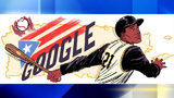 VIDEO: Roberto Clemente honored in Google Doodle