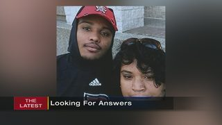 Mother demanding answers in son
