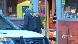 RAW VIDEO: Gas station near Station Square robbed