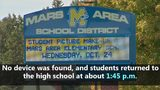 VIDEO: High school evacuated after bomb threat